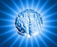 illuminated brain graphic