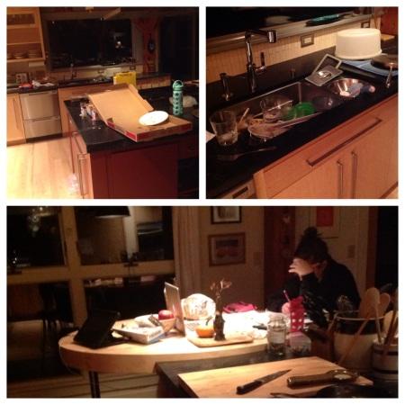 Home alone collage